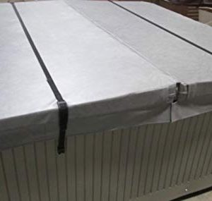 Cover Windstraps - 2x for 8ft spa or hot tub (high quality)