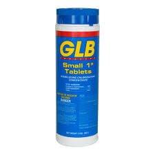 """GLB 1"""" CHLORINE TABS"""