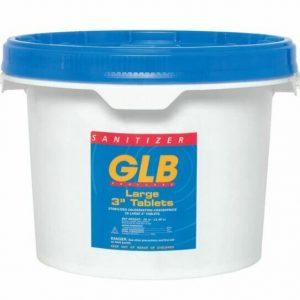 """GLB- 25# CHLORINE TABS 3"""""""